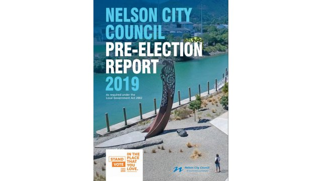Pre election report for Our Nelson
