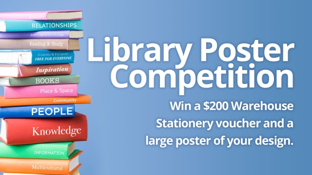 library poster competition