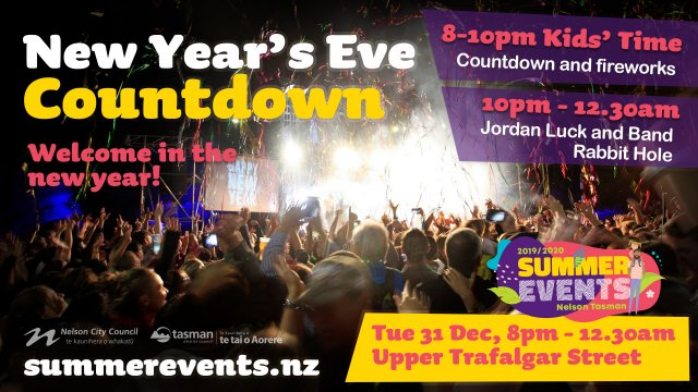summer events new years countdown