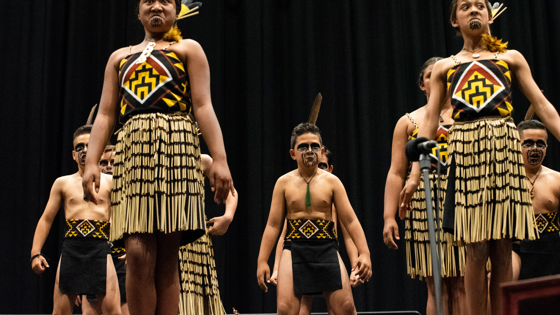There will be school Kapa Haka Groups from Nelson at the Matariki Festival. Credit: Melissa Banks.