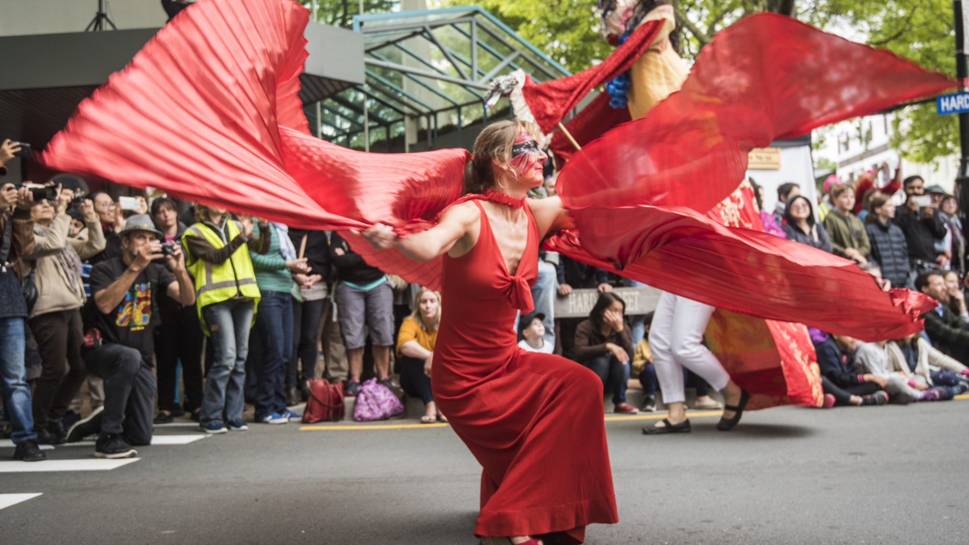 The Mask Carnivale will be the final event of the Ngā Toi Huatau programme. Photo: Steve Hussey