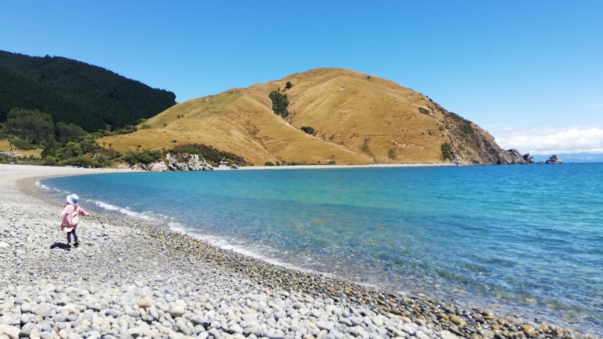 Brittany Packer's photo of Cable Bay was a randomly selected winner of Nelson City Council's social media competition.