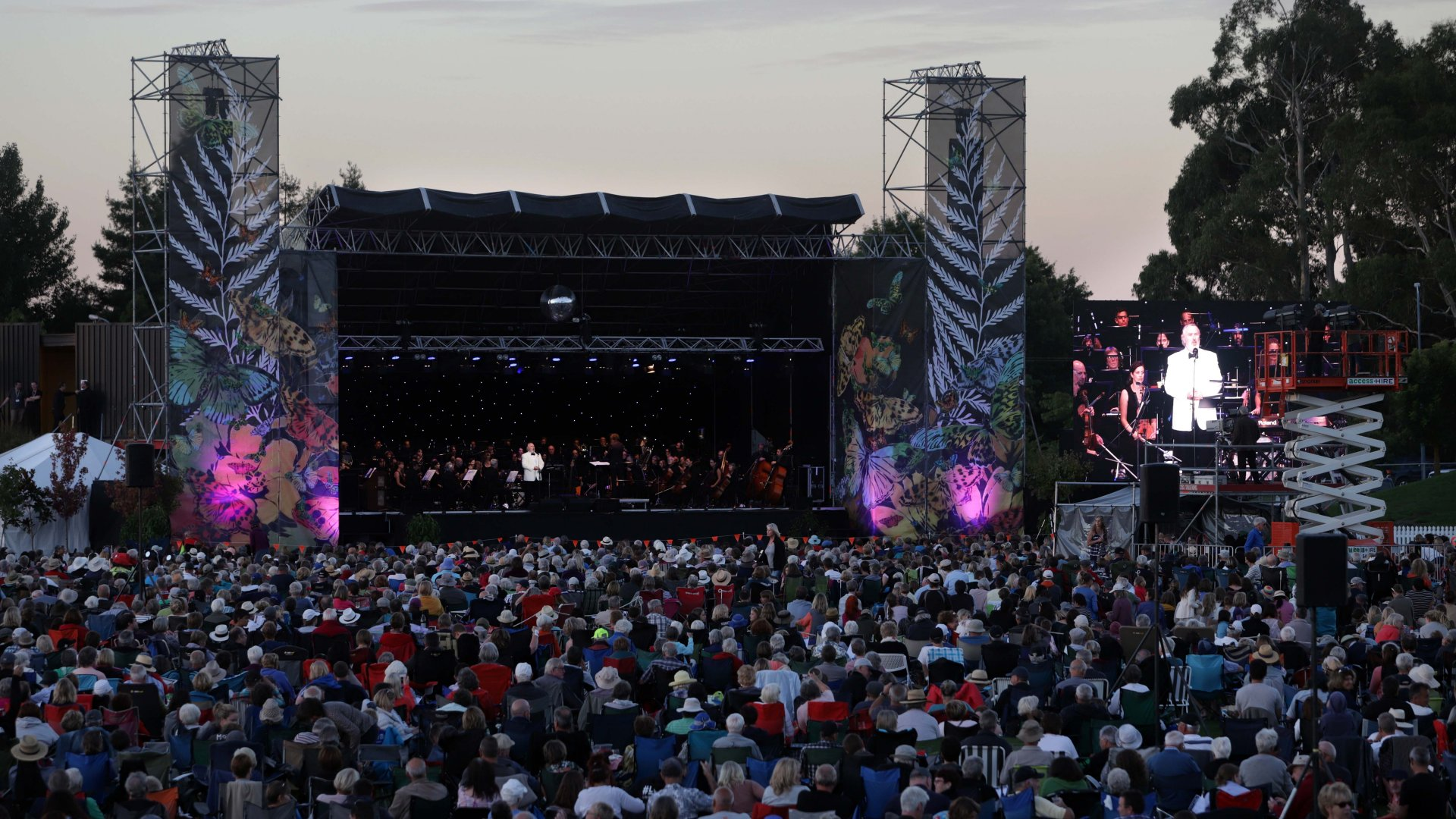 Opera in the Park, 2018. Photo: Tim Cuff
