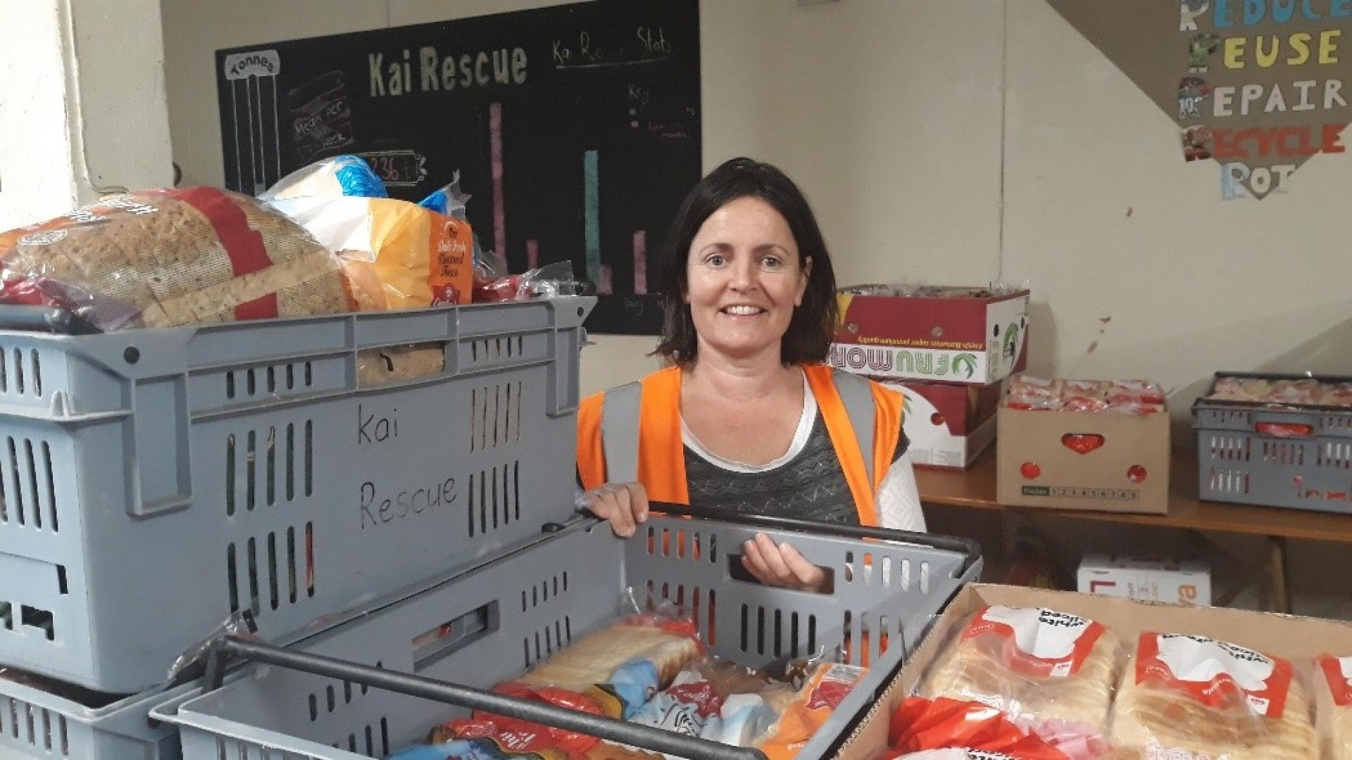 Kai Rescue is reducing food waste and helping to feed those most in need.